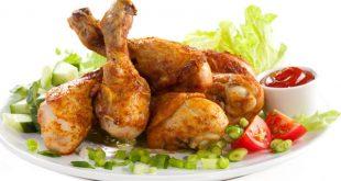 کنسرو مرغ پخته شده